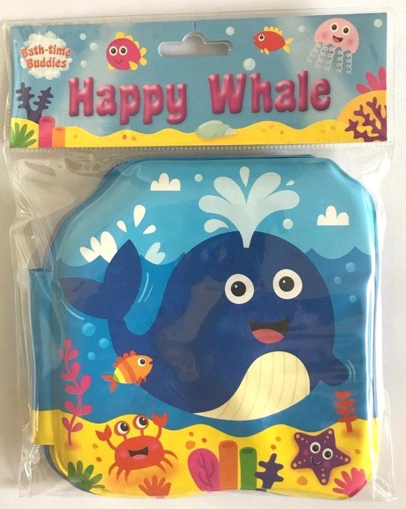 Baby/Kids Happy Whale Bath book NEW!!!! - Children Store Co.