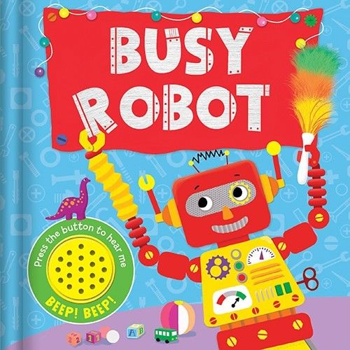 Baby/kids Busy Robot Sound book NEW!!!! - Children Store Co.
