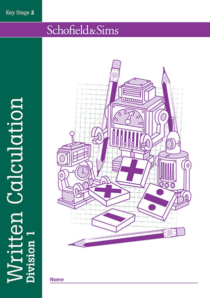 Written Calculation by Division 1 & 2 by Schofield & Sims (Pack of 2) books - Children Store Co.
