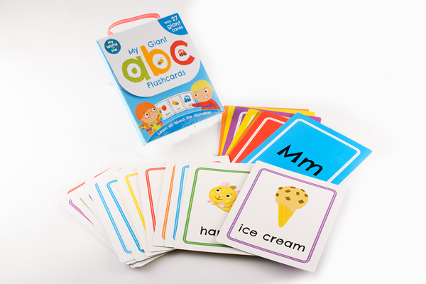 Preschool/Reception Kids/Children My Giant abc Flashcards Ages 2+ NEW!!!! - Children Store Co.
