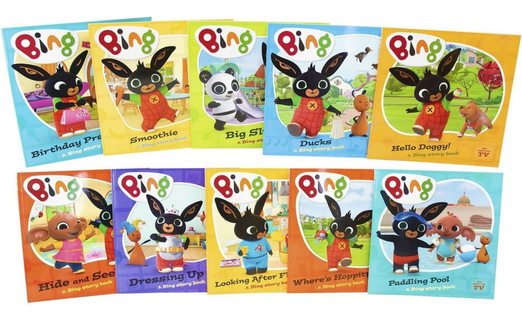 Kids/Children Bing Bunny 10 Story books collection Paperback Ages 2+ New!!! - Children Store Co.