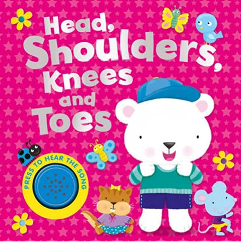 Baby/Kids Sound book Head, shoulders, knees & toes hardback V Good Condition!!!
