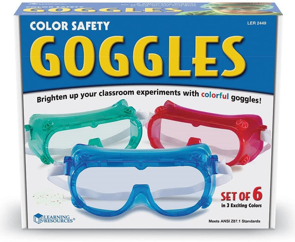 Learning Resources Colour Safety Goggles (Set of 6) - Children Store Co.