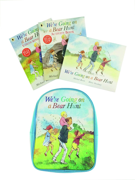 We're Going on a Bear Hunt: Backpack and 3 Book Collection NEW!!! - Children Store Co.