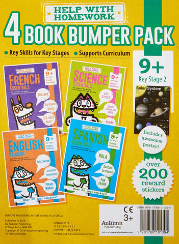 Help With Homework Ages 9+ (4 books set) Brand New!!!!! - Children Store Co.