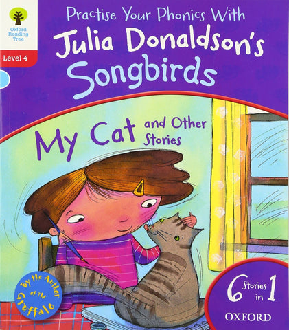 Practise your Phonics with Julia Donaldson's Songbirds Book Band 4 - Children Store Co.