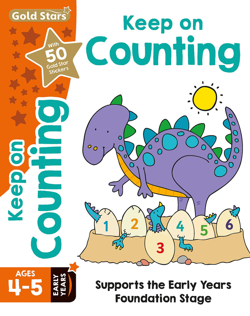 Goldstars Keep on Counting Ages 4-5 yrs  NEW!!!! - Children Store Co.