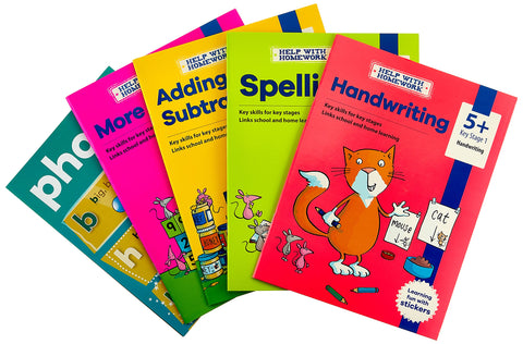 Help With Homework Ages 5+ (4 books set) Brand New!!!!! - Children Store Co.