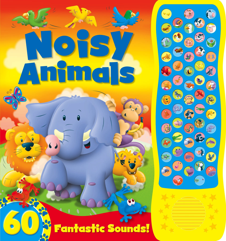Baby's / Kids Noisy Jungle Sound book Hardback - Children Store Co.