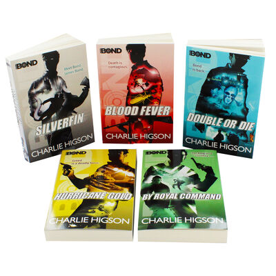 Young Bond 5 Books Series - Young Adult - Paperback - Charlie Higson Ages 9+ New - Children Store Co.