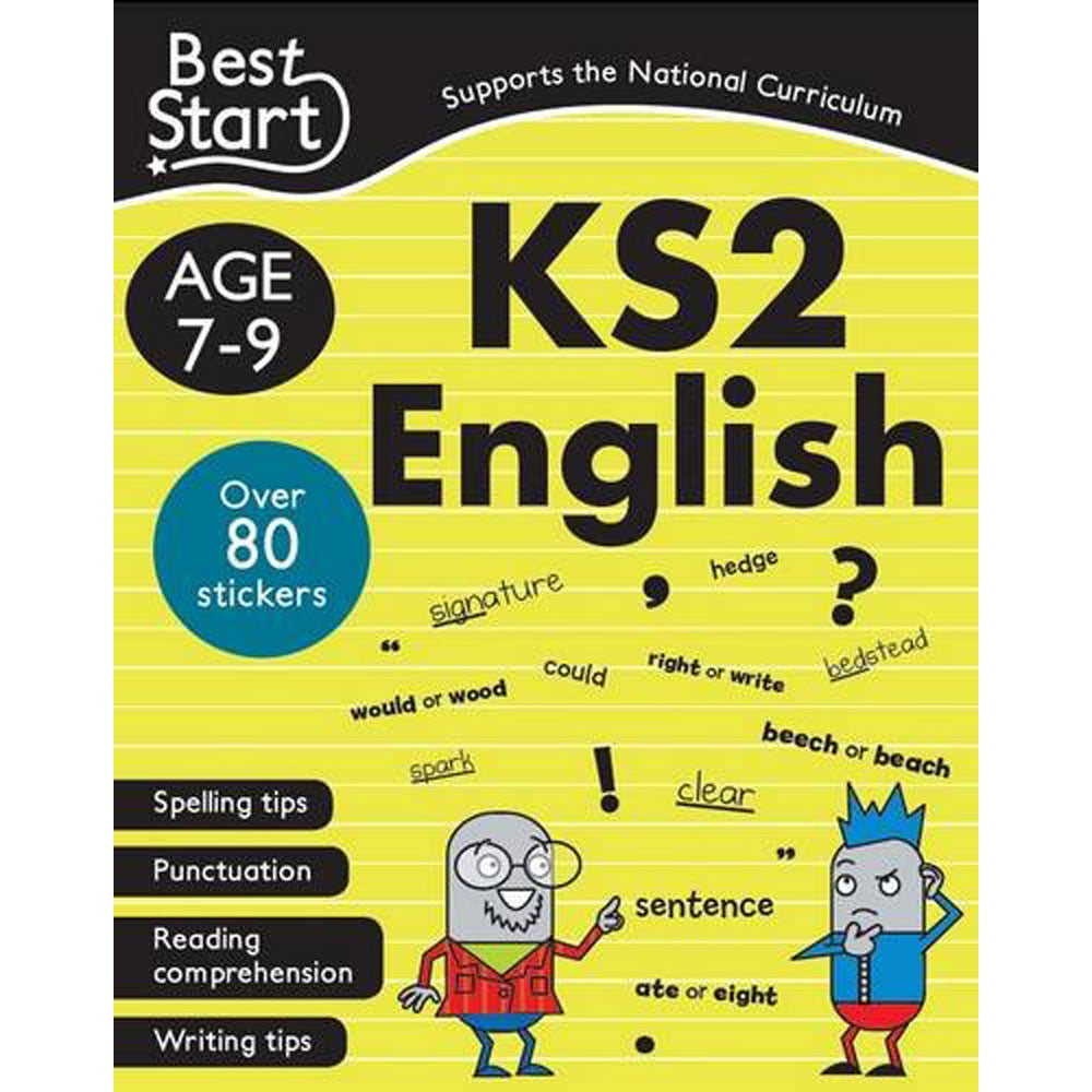 Best Start KS2 English Ages 7-9 New!!!!! - Children Store Co.