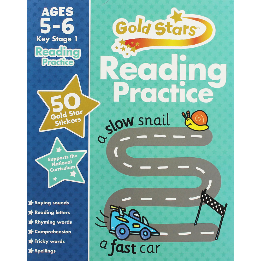Goldstars Reading Practice Ages 5-6 Brand New!!!! - Children Store Co.