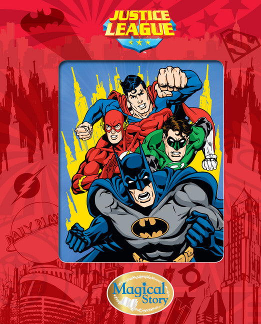 JUSTICE LEAGUE MAGICAL STORY Hardback book NEW!!!