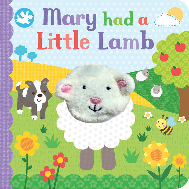 Mary had a little Lamb Finger puppet Board book by Little Learners (NEW)!!!! - Children Store Co.