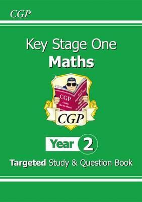 CGP KS1 Maths Targeted Study & Question book Paperback!!!! - Children Store Co.