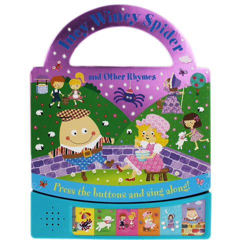 Carry along sound book Incy Wincy Spider and other Rhymes - Children Store Co.
