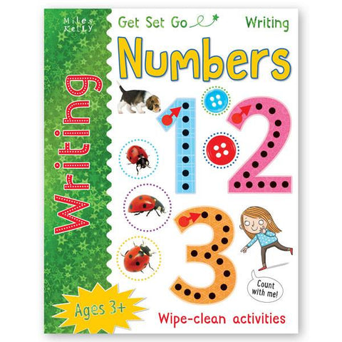 Learn to write NUMBERS wipe clean book (New Edition) PEN INCLUDED!!!!
