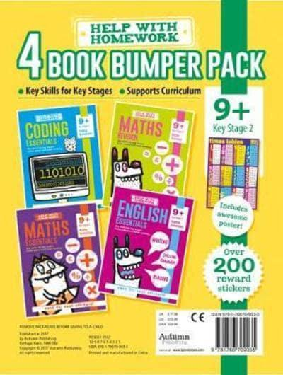 Homework 4 book bumper Pack KS2 Ages 9+ Brand New!!!! - Children Store Co.