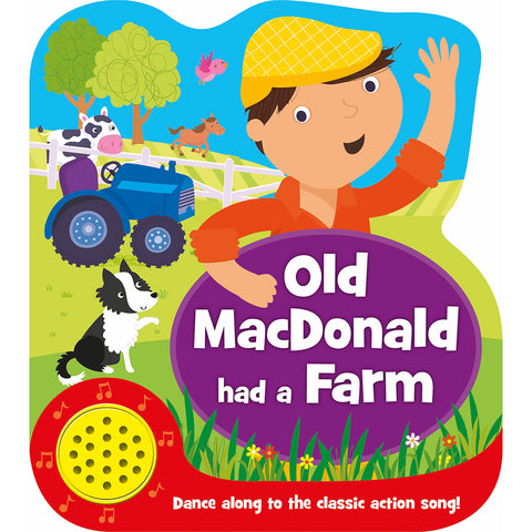 Old Mac Donald farm One button Sound book NEW Edition!!!