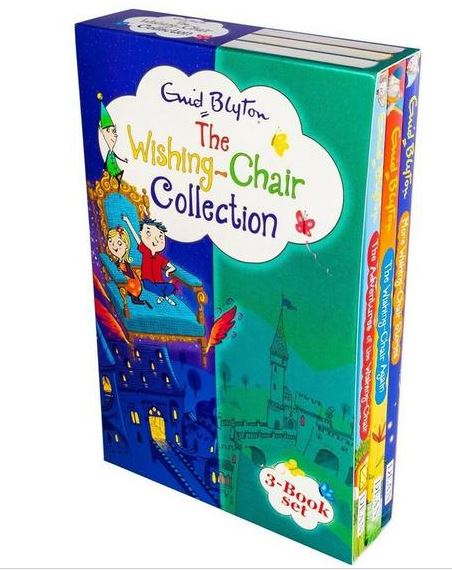 Enid Blyton The Wishing Chair 3 Books Collection Set Ages 5-7 Paperback New - Children Store Co.