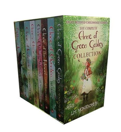 Anne of Green Gables Complete 8 Books Box set Collection by Lucy Maud Montgomery Brand New - Children Store Co.