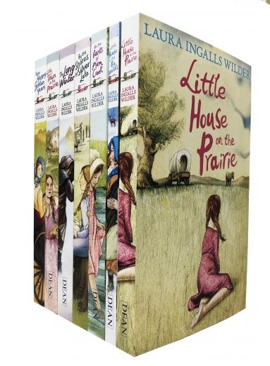 Little House on the Prairie Collection 7 Books Set - Ages 7-9 - By Laura Ingalls Wilder Paperback New - Children Store Co.