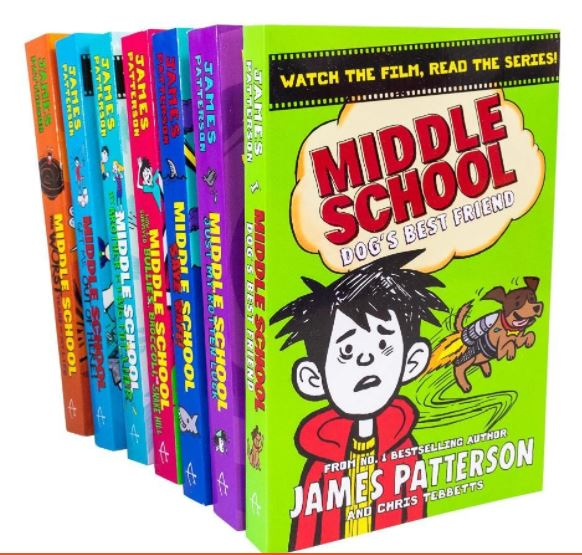 Children Middle School 7 Books Collection Set - Ages 9-14 - Paperback - James Patterson - Children Store Co.