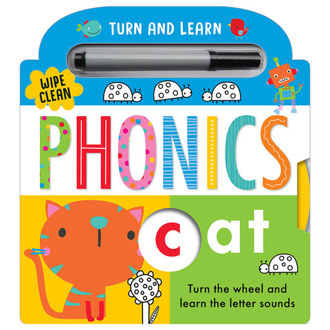 Kids Phonics Wipe clean book NEW!!! Hardback