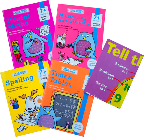 Help with Homework 4 book bumper Pack KS2 Ages 7+ Brand New!!!! - Children Store Co.