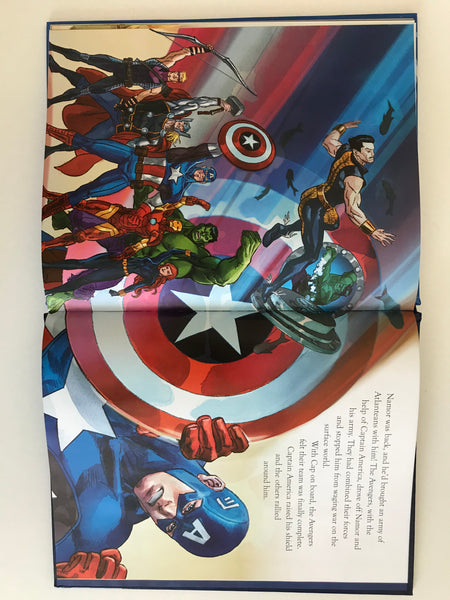 "MARVEL ""AVENGERS"" magical story hardback book NEW!!!! - Children Store Co."