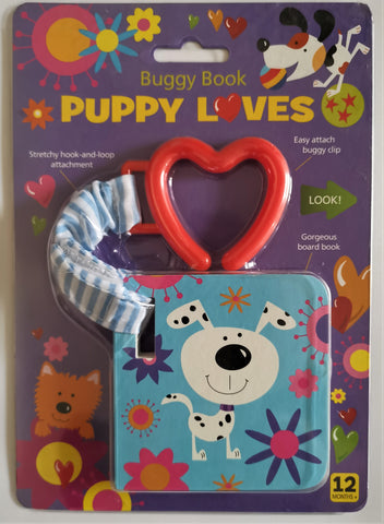 Buggy book Puppy Loves NEW!!!!! - Children Store Co.