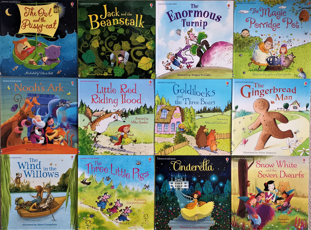 Usborne Picture Books Collection 20 Books Set Brand New!!!!! - Children Store Co.