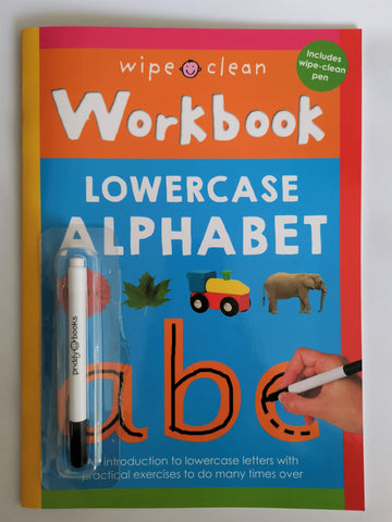 Wipe clean abc workbook New!!!! - Children Store Co.