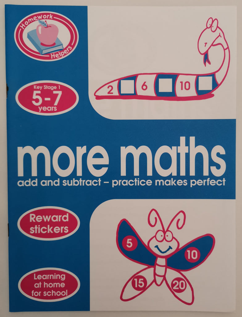 Homework Helpers more maths KS1 Ages 5+ Brand New!!!! - Children Store Co.