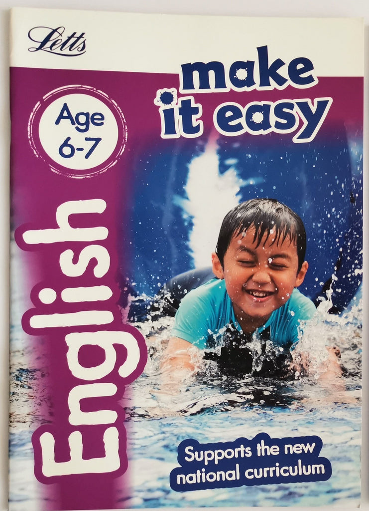 Letts Make it Easy English Ages 6-7 yrs workbook NEW!!!! - Children Store Co.