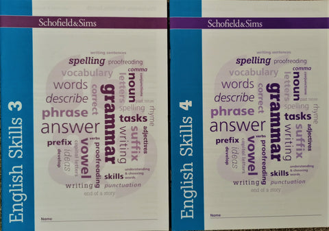 English Skills 3 & 4 by Schofield & Sims (Pack of 2) - Children Store Co.