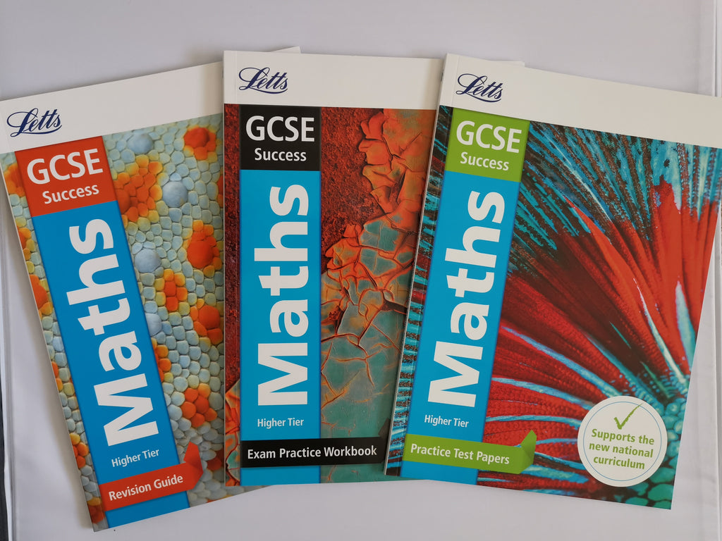 Letts GCSE Success Maths Workbooks (Set of 3 books) New!!!! - Children Store Co.