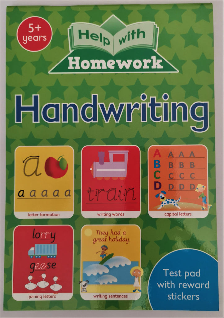 Help with Homework Handwriting Ages 5+ - Children Store Co.