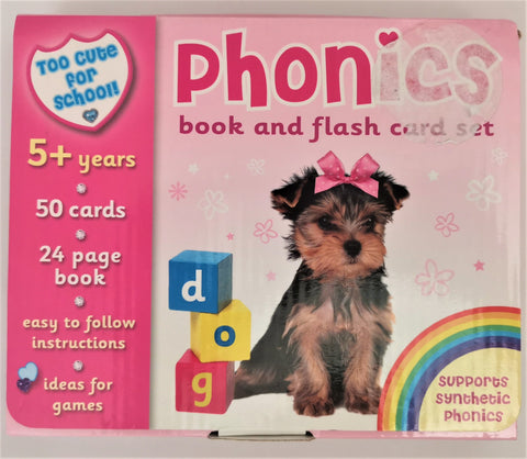 Phonics book and Flash card set - Children Store Co.