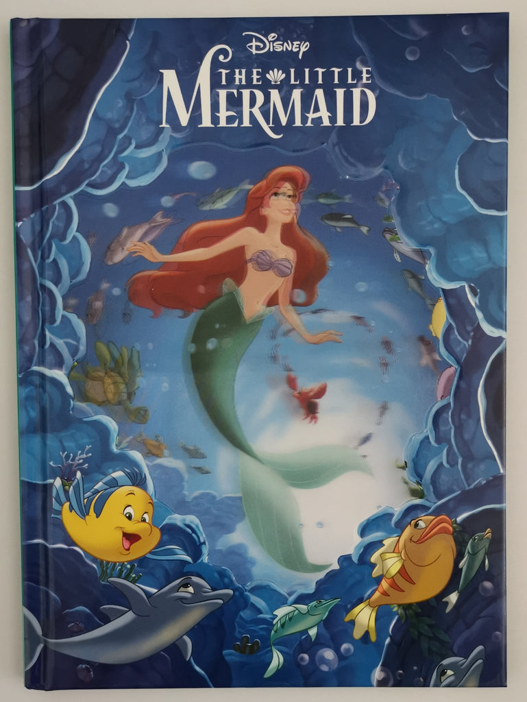 "Disney ""Little Mermaid"" magic Readers book 3D cover - Children Store Co."