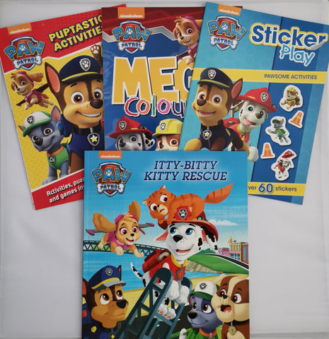 Kids/Children nickelodeon Paw Patrol Activity books (4 books set) Paperback Parragon books New!!! - Children Store Co.