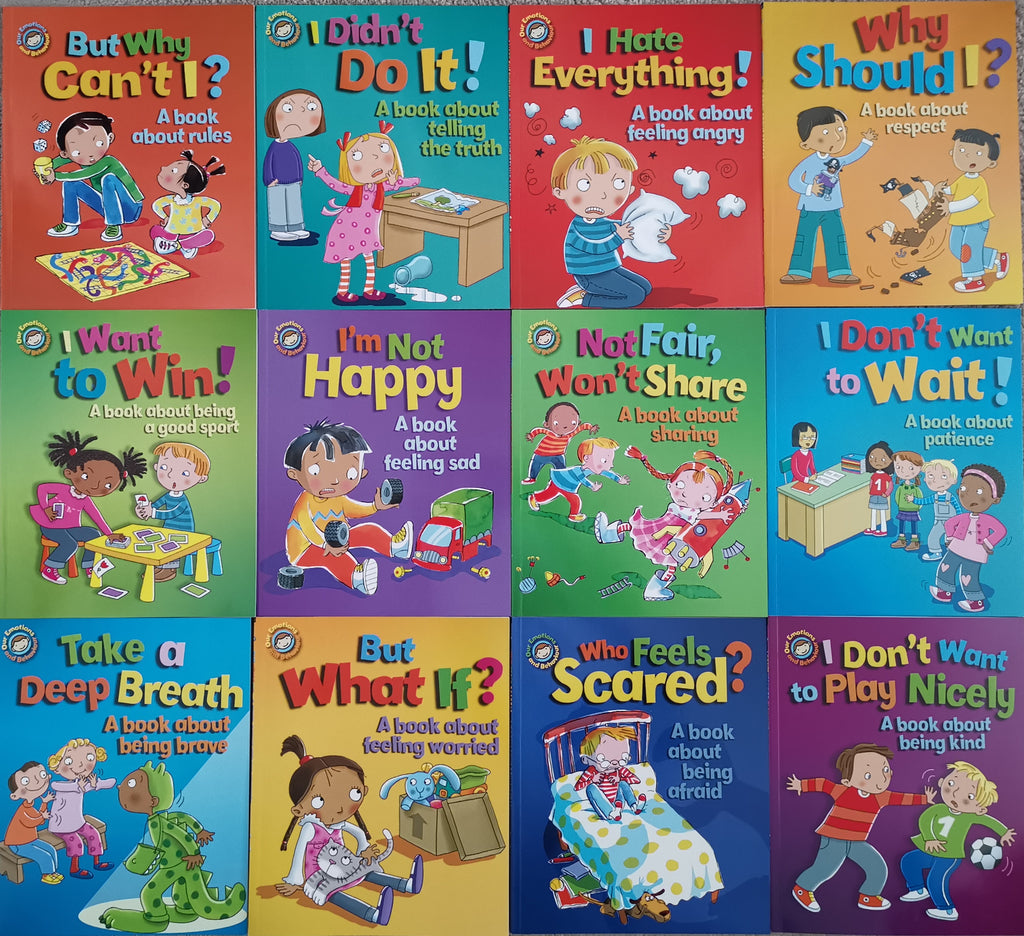 Sue Graves Our Emotion & Behaviour Series 11 Books Collection Paperback Brand New!!! - Children Store Co.