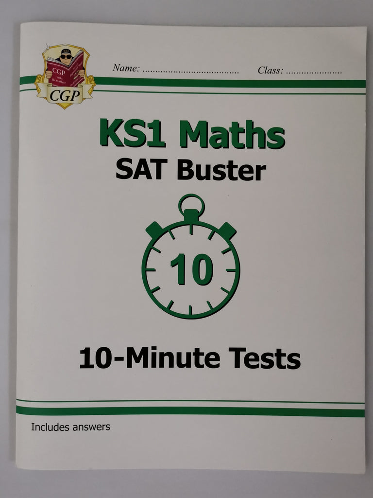 CGP KS1 Maths SAT Buster Paperback!!!! - Children Store Co.