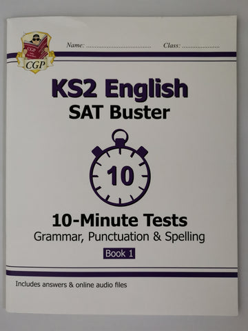 CGP KS2 English SAT Buster Paperback!!!! - Children Store Co.