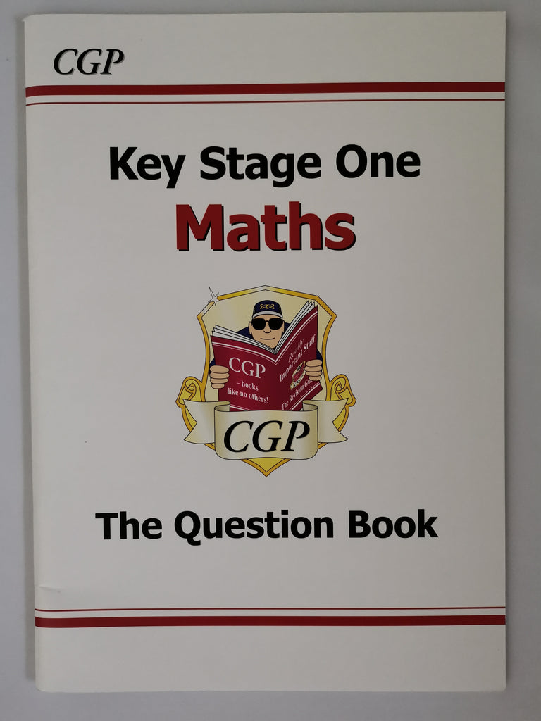 CGP KS1 Maths Question Book Paperback!!!! - Children Store Co.