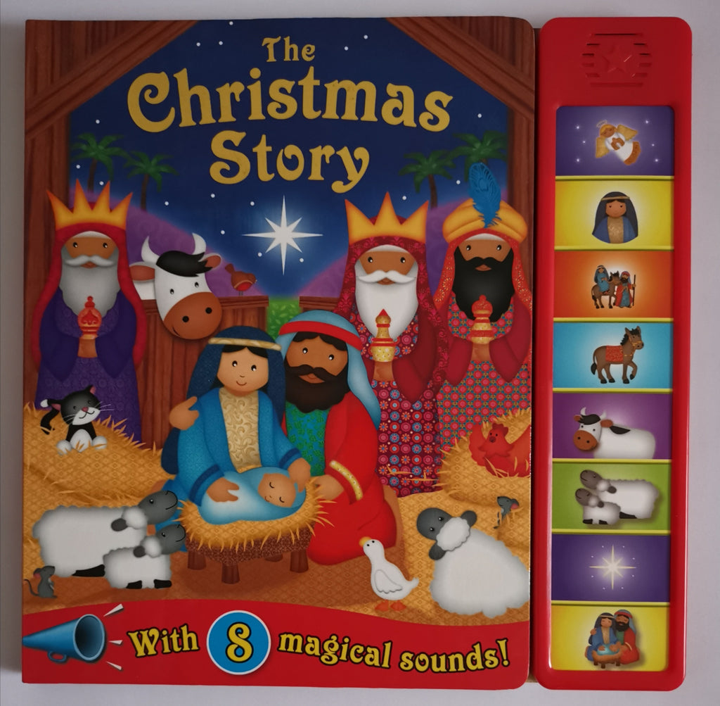 Baby / Kids The Christmas Story 8 buttons Sound book NEW!!!! - Children Store Co.