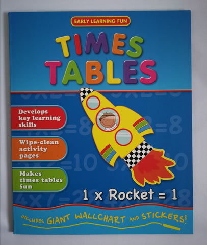 Early Learning Fun Times Tables Ages 5+ - Children Store Co.