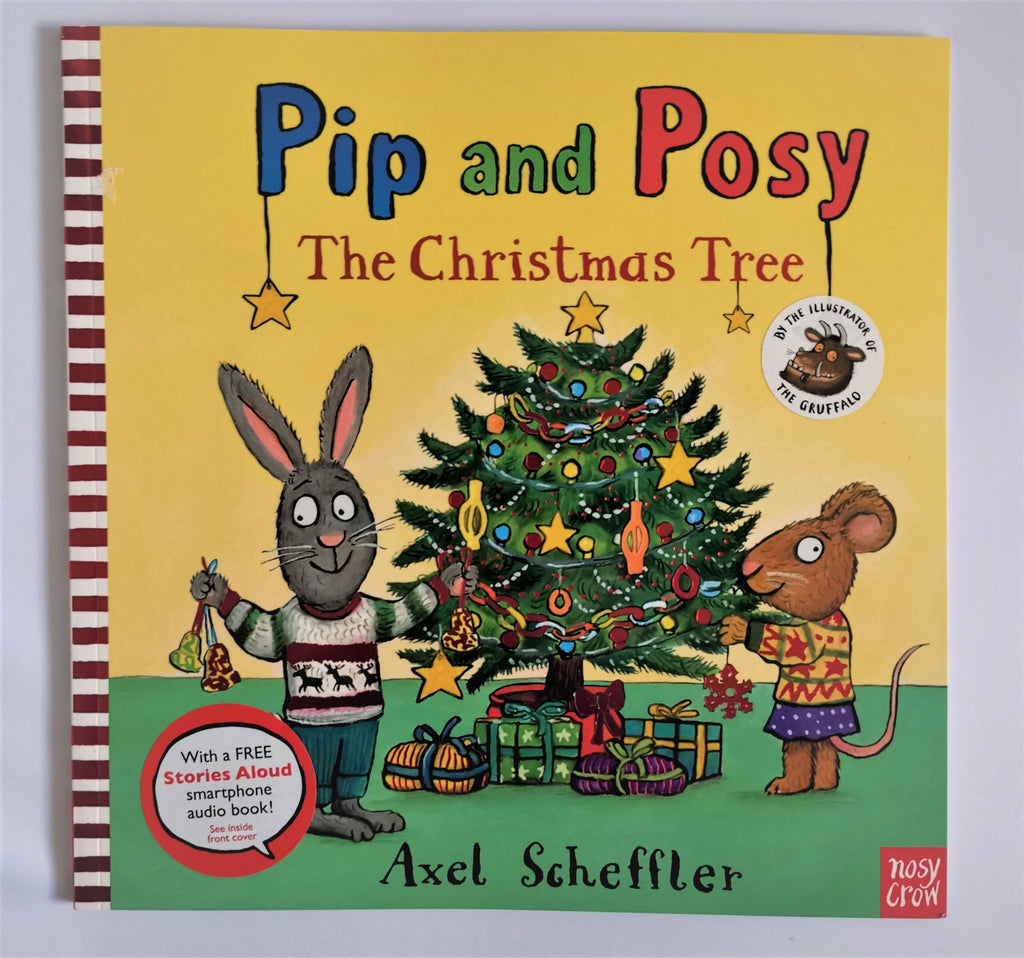 Pip & Popsy The Christmas Tree Paperback New!!!! - Children Store Co.