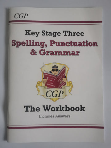 CGP KS3 Spelling , Grammar & Punctuation Workbooks Ages 12+ New!!!! - Children Store Co.