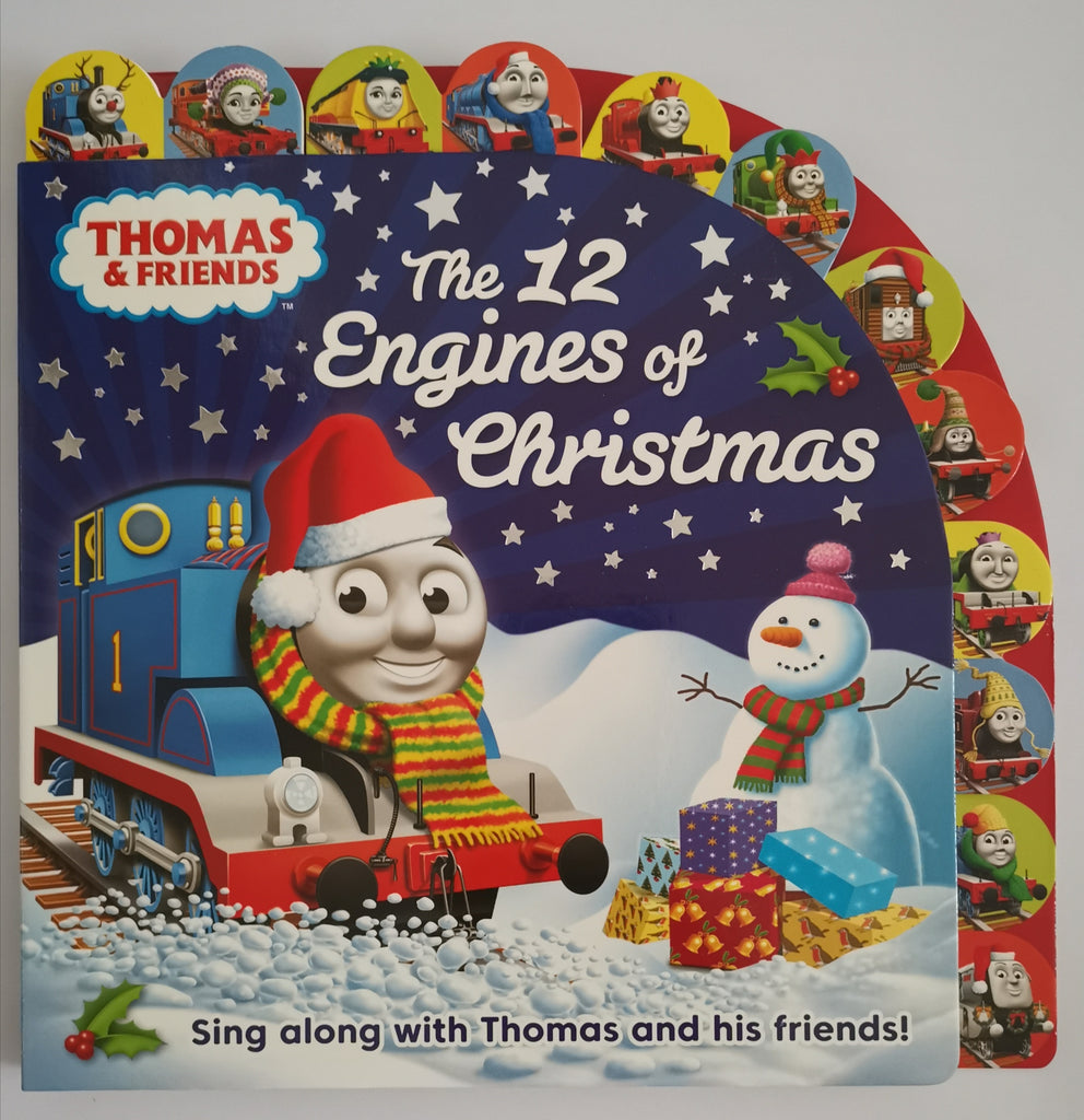 Boys/Kids Thomas & Friends 12 Engines of Christmas sing along Egmont Hardback New - Children Store Co.
